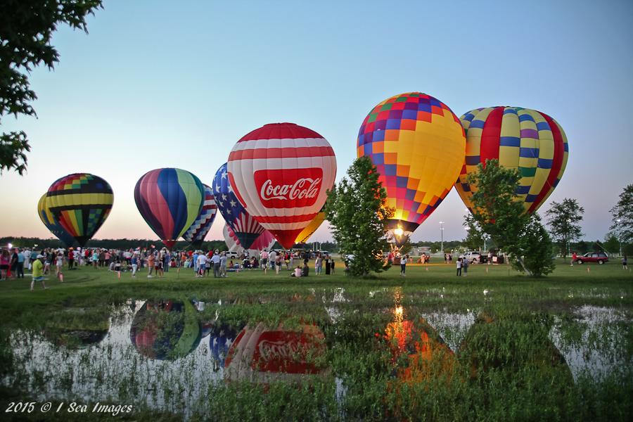 Gulf Coast Hot Air Balloon Festival, Foley, AL, 2017